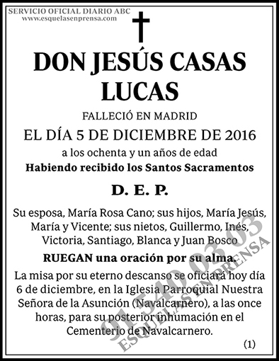 Jesús Casas Lucas